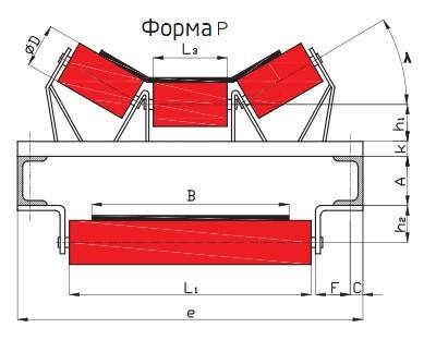 формы ленточных конвейеров